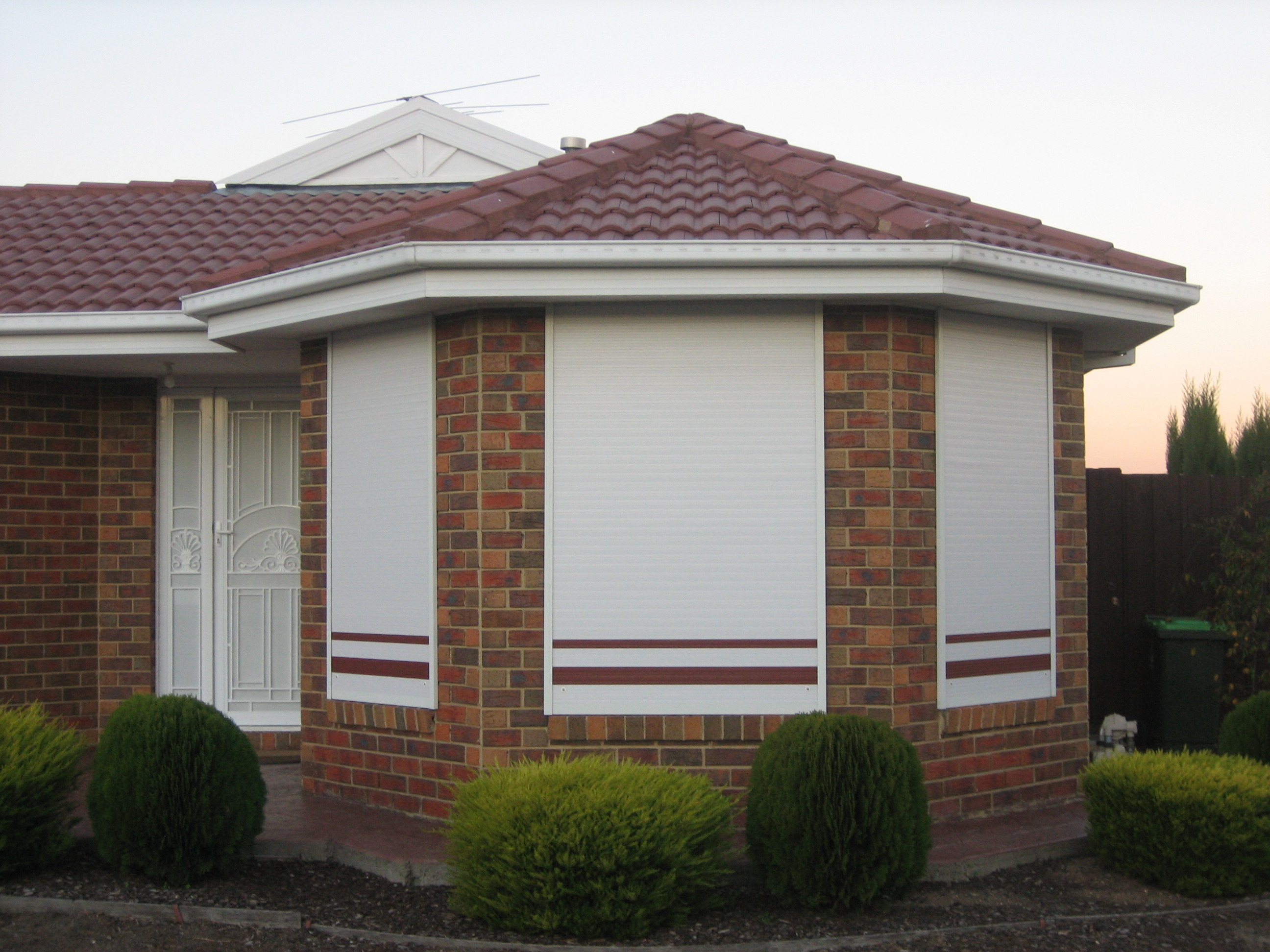 Quality roller shutters installed in your very own home...