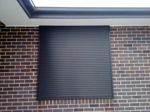 Black Window Shutter