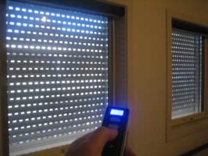Remote Control Window Shutter