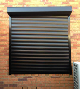 Black Window Shutter